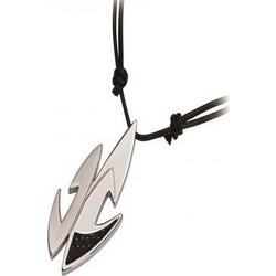 Μενταγιόν Ανδρικό Rosso Amante Steel Black Cord UCN045MG ab43e3782b0