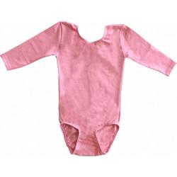 cc5c1b88dce Κοριτσιών κορμάκι μπαλέτου ενόργανης 3/4, Ροζ