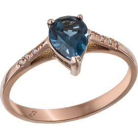 Ροζ gold δαχτυλίδι δάκρυ Κ18 031446 031446 Χρυσός 18 Καράτια f55dcec7daa