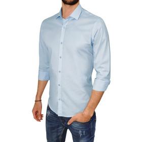 d1861018eff3 Ανδρικό πουκάμισο CHESTER - Ανοιχτό μπλέ. 3Guys