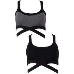 68da5d0ff2ba Sports-bra αποσπώμενη ενίσχυση cut-out.Sports collection.Best buy 2pack.