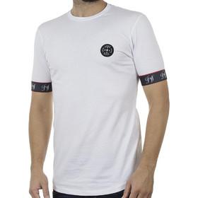 396597657e18 Ανδρικό Κοντομάνικη Μπλούζα T-Shirt FREE WAVE 91122 Λευκό