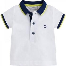 Βρεφική Μπλούζα Mayoral 190-087 Λευκό Αγόρι ab0a7ae397c