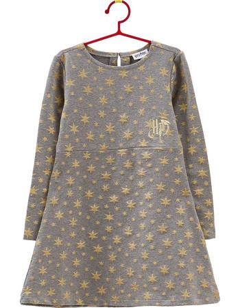 b7a002b787c OVS παιδικό φόρεμα γκρι Harry Potter με αστέρια - 000318768 - Γκρι