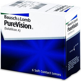 Bausch & Lomb Purevision 6Pack Μηνιαίοι