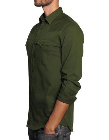 Ανδρικό πουκάμισο PFD - Χακί 8214e77e8e1