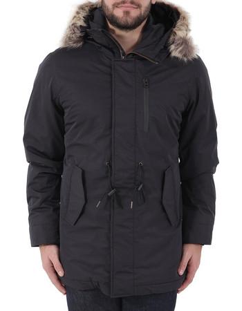 Funky Buddha Parka Jacket FBM021-01218-Black 26c63d1725a