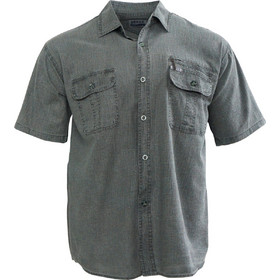97920884ecf8 Αντρικό πουκάμισο cotton με τσέπες σε φαρδιά γραμμή.Casual style.New  arrival. ΧΑΚΙ