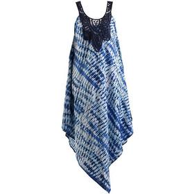 c22109d87d9a Φόρεμα γυναικείο αμάνικο με κέντημα