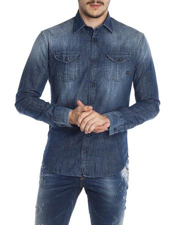 denim shirt - Ανδρικά Πουκάμισα (Σελίδα 2)  ec51136081d