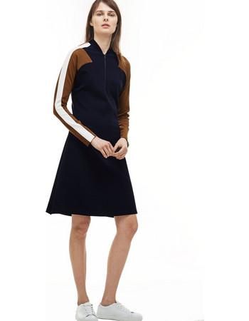 52eff5d4217f Γυναικείο φόρεμα Lacoste - EF7610 - Μπλε