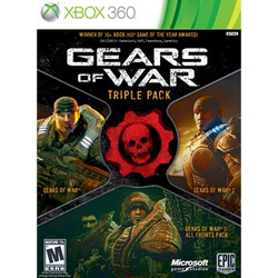 Gears of War Triple Pack Used Xbox 360