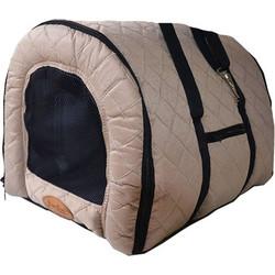 e69eb2212a1f Pet Camelot Πάνινη Τσάντα Μεταφοράς Σκύλου έως 5kg L Μπεζ