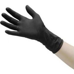 Γάντια Μιας Χρήσης Latex   Λάτεξ XLarge Μαύρο 100τεμ d6ee7436bf3