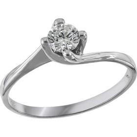 Μονόπετρο φλόγα με διαμάντι 18Κ 028314 028314 Χρυσός 18 Καράτια adb50e45b17