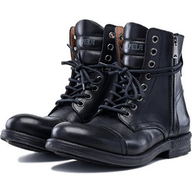 0ed6db0ea77 Ανδρικά Παπούτσια Replay Phim Lace Up Leather Unkle Boots Mens Shoes Μαύρο  RC410017L-003