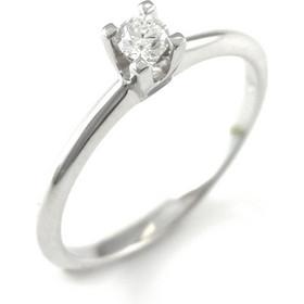ΜΟΝΟΠΕΤΡΟ Λευκόχρυσο Μονόπετρο 18Κ με διαμάντι 0.14ct rngkal249mn 2d6d4ab3dd6