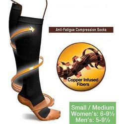 Κάλτσες Διαβαθμισμένης Συμπίεσης - Cooper Fit b4427314488