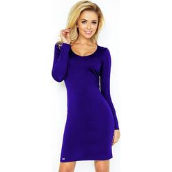 cc0779c39594 70060 NU Μίνι φόρεμα με μακριά μανίκια - μπλέ ρουά