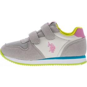 e07f76de756 Παιδικά Παπούτσια Casual Shan Γκρι ECOsuede U.S. Polo Assn