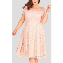 037d521069b4 Φόρεμα Δαντέλας Vintage Blush Pink