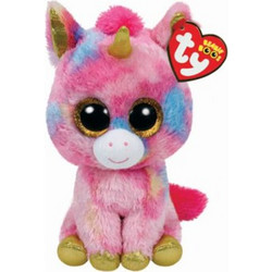 TY Beanie Boo - Fantasia Πολύχρωμος Μονοκερος Χνουδωτός (15cm) - (1607 -  36158 d7a020add32