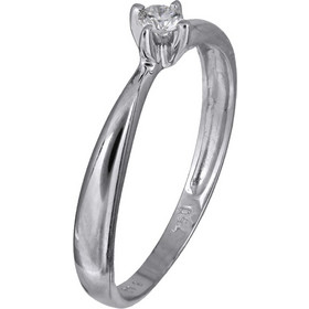 Μονόπετρο δαχτυλίδι Κ18 με διαμάντι 022623 022623 Χρυσός 18 Καράτια a3ea24bfbd6