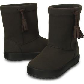 Παδικά Μποτάκια Crocs LodgePoint Boot K Espresso 203751-206 79fc112ca54