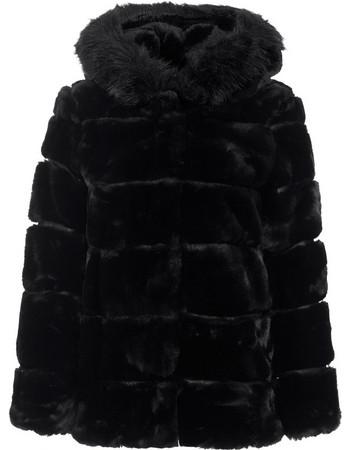 Παλτό από οικολογική-συνθετική γούνα WL1365.7602+1 1a83d32662e
