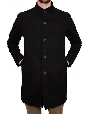 Ανδρικό Παλτό Coat 3GUYS ALLEN 93-3993 Μαύρο dd02ad6bef5