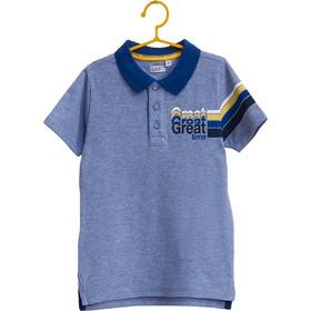 d4d2e436a76a Παιδική μπλε μπλούζα polo με print OVS - 000201217 - Μπλε