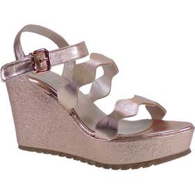 Fardoulis shoes Γυναικείες Πλατφόρμες Πέδιλα 26207 Χαλκός Δέρμα 44531 26643ae4791
