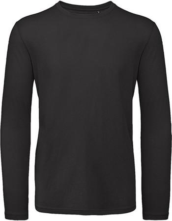 Μακρυμανικο Ανδρικο Μπλουζακι Inspire Organic B   C TM070 - Black 93fddf8f05f