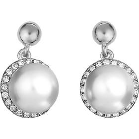 Ασημένια σκουλαρίκια 925 με λευκές πέρλες SWAROVSKI SK-V34933L1 b011f3fb42f