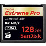 Sandisk 128GB Compact Flash Extreme Pro 160MB