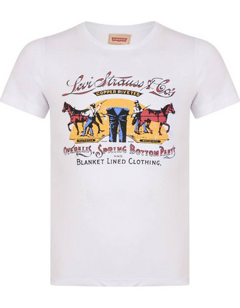 Μπλούζες Αγοριών Κοντομάνικο • Levi s  055bc13629d