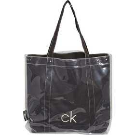 9dc84cc665 Calvin Klein Γυναικεία Τσάντα Θαλάσσης Transparent Beach Shopper Μαύρο