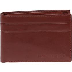 4546a8f3ea Δερμάτινο ανδρικό πορτοφόλι ΜΑΚΗΣ ΤΣΕΛΙΟΣ σε καφέ χρώμα με RFID προστασία  (6-811BR)