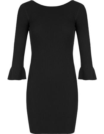Ριπ φόρεμα με βολάν στο μανίκι SD874.8611+3 416be7c5e5a