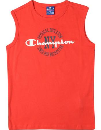 Champion Sleeveless Crewneck Παιδικό T-Shirt 304600-RS017 40ac4b6ba58