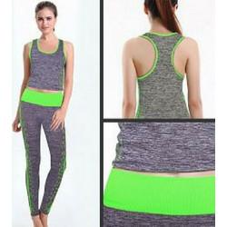cba99980fd05 Γυναικείο Αθλητικό Σετ - Κολάν και Τοπ Yoga Wear Suit