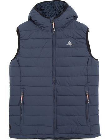 Emerson Hooded Fake Down Quilted Vest Jacket 182.EM10.231-Navy Blue f639c2dd047