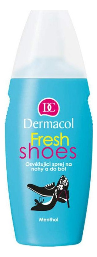 Dermacol Fresh Shoes Refreshing Spray On Your Feet & Shoes 130ml