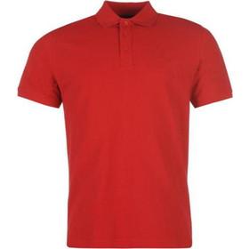 ff22472116ad Pierre Cardin Ανδρικό μπλουζάκι polo T-Shirt με κοντό μανίκι και κουμπιά σε  Κόκκινο χρώμα