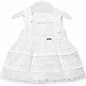 Φορεμα φοδραρισμενο Mayoral 29-01928 - λευκο fa2558f5767