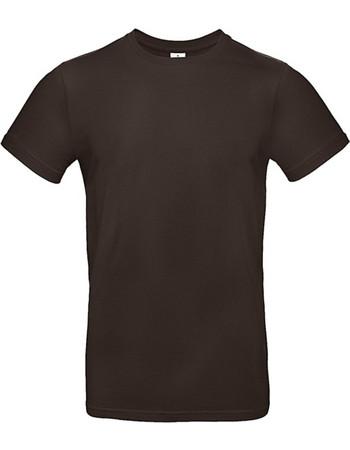 32cf46c42807 Ανδρικό Βαμβακερό Μπλουζάκι E190 T-Shirt Brown tu03t