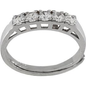 Δαχτυλίδι σειρέ Latla ασημί 925 με ζιργκόν 610afcf6462