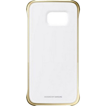 Samsung Clear Cover Gold (Galaxy S6 Edge)