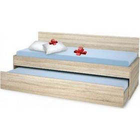 4eef7a3a832 Κρεβάτι Καναπές με δύο στρώματα και συρτάρι Bisi Sandwich Genomax 3328