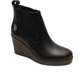 US POLO ASSN Γυναικεία παπούτσια w-801-Mira leather Black c358fa5e648